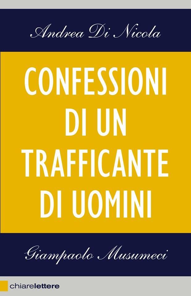 Book Cover: Confessioni di un trafficante di uomini